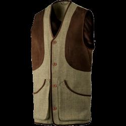 Ragley vest Moss check