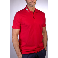 Castellani rød polo shirt
