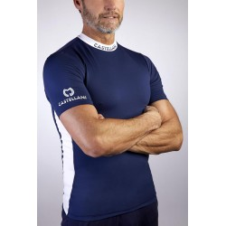 Castellani Bicolor SP T-shirt navy