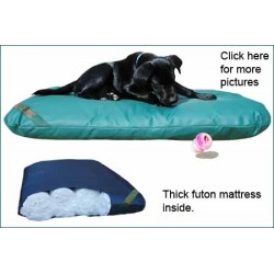 Wipe Clean Tuffies Dog Bed 110x68cm